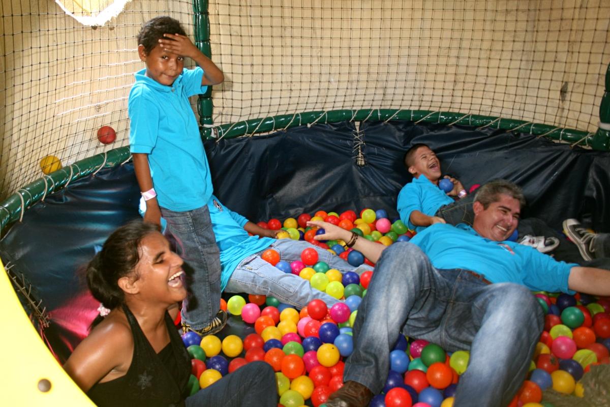 Grandioso día para los niños con Discapacidad