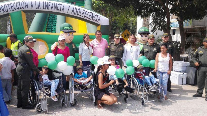 donacion de sillas de ruedas INCLUSOCIAL